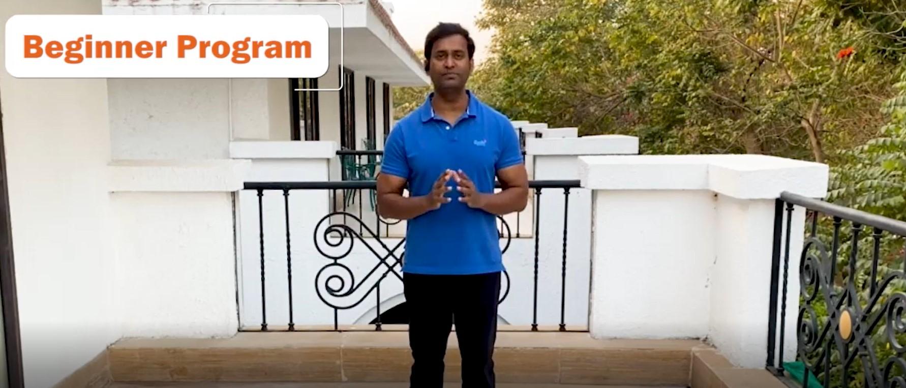 Vinod Channa Beginners Exercise